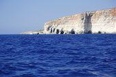 Stone Caves Of Comino Island