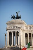 stock photo of altar  - The ancient Altare della Patria, Rome, Italy