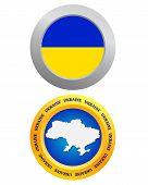 Button As A Symbol Of Ukraine