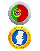 Button As A Symbol Portugal