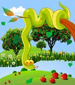 The Serpent In The Garden Of God
