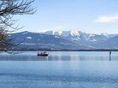 Lake Constance And Alps Germany