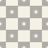 Seamless square pattern tile background geometric