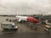 Oslo Gardermoen, Norway - November 3:aircrafts At Oslo Gardermoen International Airport On November