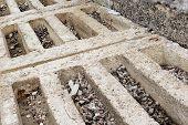 Rust In Reinforcement Concrete Beam Is Danger
