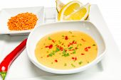 foto of tripe  - Mercimek Corbasi is a traditional Turkish lentil soup - JPG