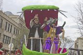 Mardi Gras Parade King And Queen