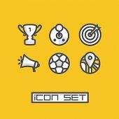 Icons set game