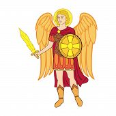 Archangel michael the arms of Kiev
