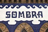 Sombra - Detail Of The Monumental Bullring.