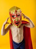 Tiny Mexican Wrestler
