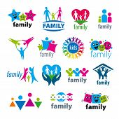 Big Set Of Vector Icons Family
