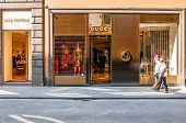 Gucci Shop In Florence, Italy