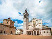 Spoleto Cathedral, Umbria, Italy