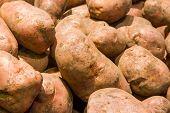 Potatoes In Market