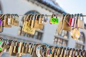 Pair Of Love Locks