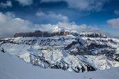 Dolomites, Italy, Europe. panorama photo.