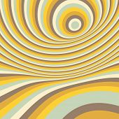 Abstract swirl background. Pattern with optical illusion. Vector illustration.