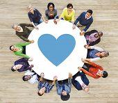 Like Emotion Love Passion Follow Joy Sharing Concept