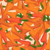 image of carrot  - Carrot pattern - JPG