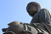 picture of lantau island  - Tian Tan Giant Buddha from Po Lin Monastery - JPG