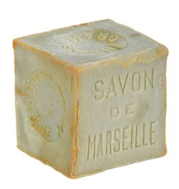 stock photo of arriere-plan  - Soap of Marseille made with olive oil isolated - JPG