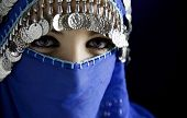 foto of arabic woman  - middle eastern culture - JPG