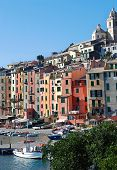 Colorful Italian Seaside Town