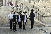 Young Jewish Men, Jerusalem