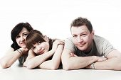 image of grown up  - Happy family - JPG