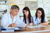 stock photo of medical staff  - Medical theme - JPG