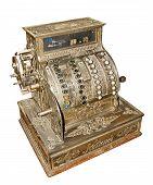 Antique Old Cash Register