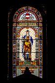 Catholic Church Stained-glass Window