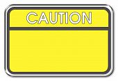 foto of warning-signs  - caution warning sign - JPG