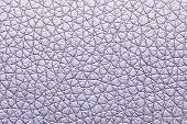 Silver color leatherette texture