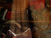 Polvo de madera en Sunray
