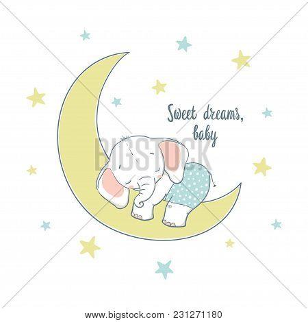 Sweet Dreams A Little Elephant