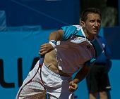 Nice, France - May 17: Sergiy Stakhovsky (ukr) At The Nice Cote D'azur Open On May 17, 2011