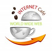 Internet cafe icon