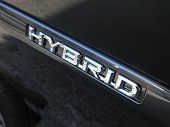 Luxury Car Hybrid Badge 1