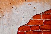 stock photo of kan  - Texture Brick Wall at chang kan  - JPG