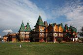 Russia. Palace of Tsar Alexei Mikhailovich in Kolomenskoe.