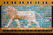 Ishtar Gate Mosaic