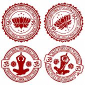 Collect Yoga Stamps