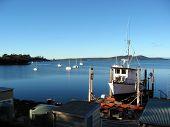 Fishing Boat In Drydock