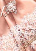 Textile Hochzeit Hintergrund