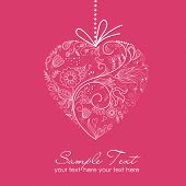 picture of valentine card  - valentine card - JPG