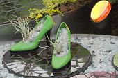 Floro Green Shoes