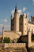 stock photo of zar  - The famous Alcazar of Segovia in Spain - JPG