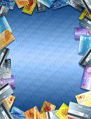 Moldura de cartão de crédito 01